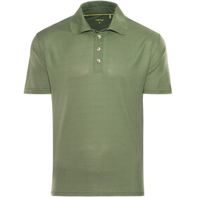 Meru Wembley Functional Polo Shirt Men Thyme